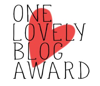 one lovely blog award _ Ich Bin Dein Vater